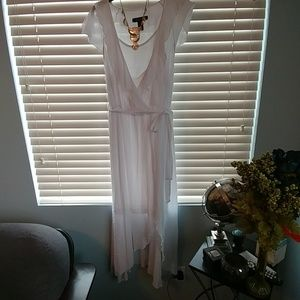 NWOT Ashley Stewart Hi/Lo Dress Sz16